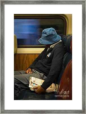 Exhausted Framed Print by Fred Lassmann