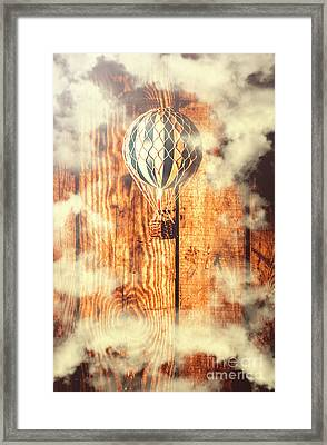 Exhibit In Adventure Framed Print