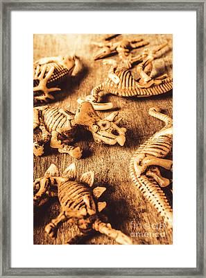 Exhibition In Prehistoric Art Framed Print