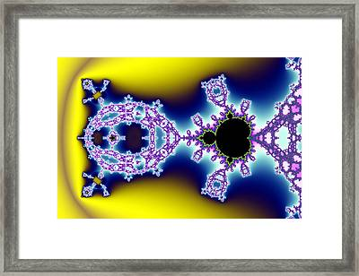 Exiled Mandelbrot No. 74 Framed Print by Mark Eggleston