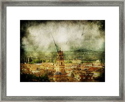 Existent Past Framed Print by Andrew Paranavitana