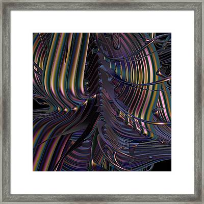Existential Condition Framed Print by Michele Caporaso