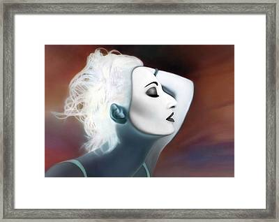 Existing In Extremes - Self Portrait Framed Print by Jaeda DeWalt