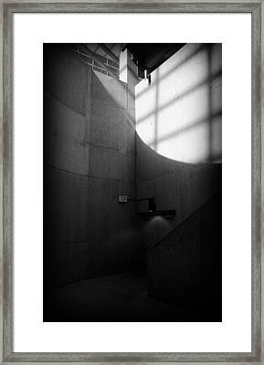 Exit Framed Print by Lucas Boyd