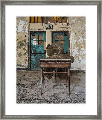 Exit Framed Print by Robert Myers