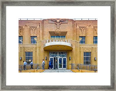 Exit Stage Left 2 Framed Print