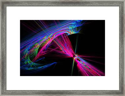 Exiting Hyperspace Framed Print