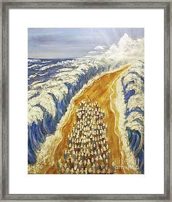 Exodus Framed Print