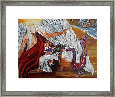 Exorcismo Framed Print