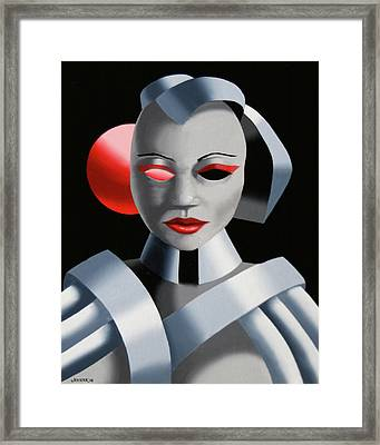 Exoskeleton 1  Framed Print by Mark Webster