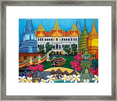 Exotic Bangkok Framed Print