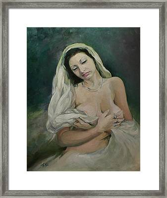 Exotic Beauty Framed Print