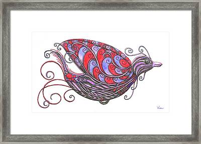 Exotic Bird V Framed Print