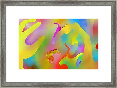 Exotic Creature Framed Print by Peter Shor