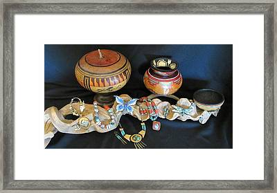Exotic Gourds Framed Print