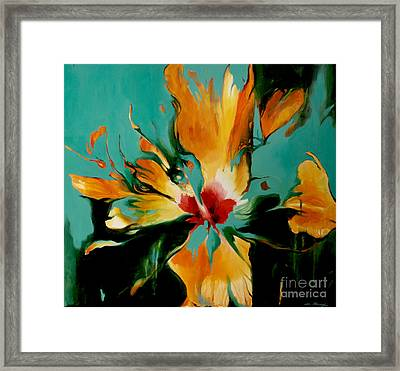 Exotic Framed Print by Lin Petershagen