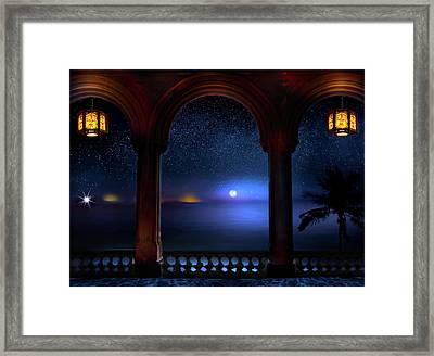 Framed Print featuring the photograph Exotic Night by Mark Andrew Thomas