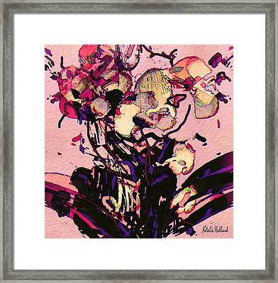 Exotic Orchid Framed Print by Natalie Holland