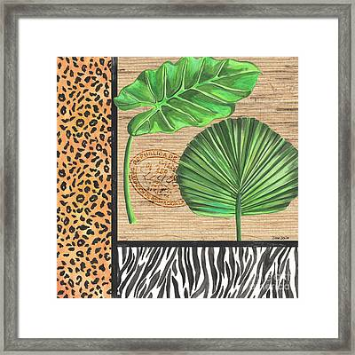 Exotic Palms 2 Framed Print by Debbie DeWitt