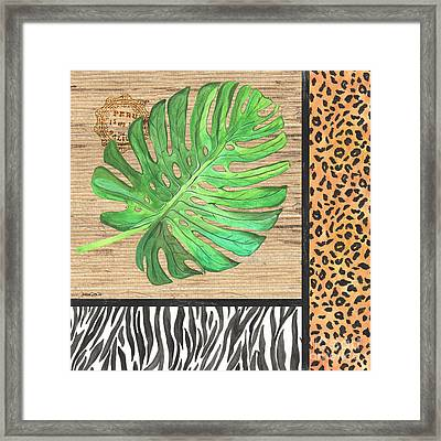 Exotic Palms 3 Framed Print by Debbie DeWitt