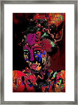 Exotic Princess Framed Print