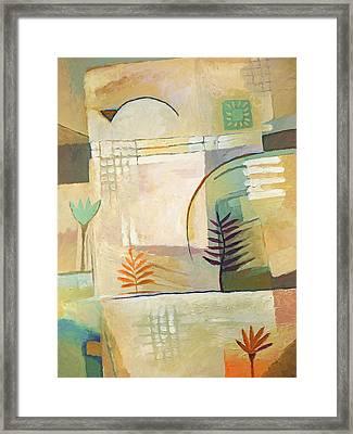 Exotic Site Framed Print by Lutz Baar