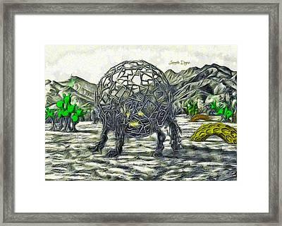 Exotic World Framed Print