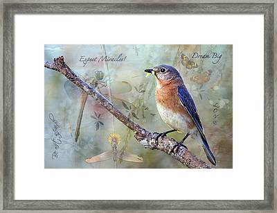Expect Miracles Framed Print by Bonnie Barry