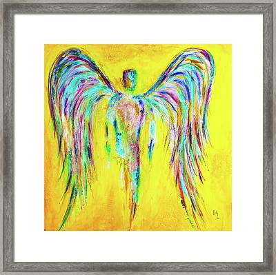 Expect Miracles Framed Print