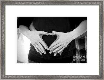 Expecting Love Framed Print