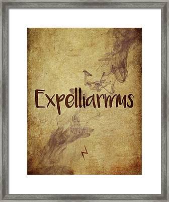 Expelliarmus Framed Print