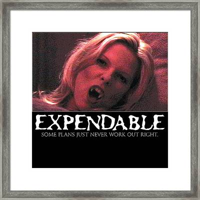 Expendable 1 Framed Print