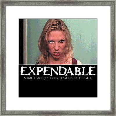 Expendable 10 Framed Print