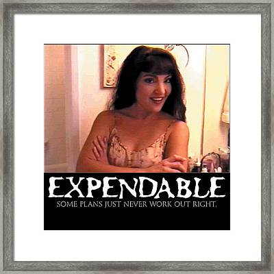 Expendable 12 Framed Print