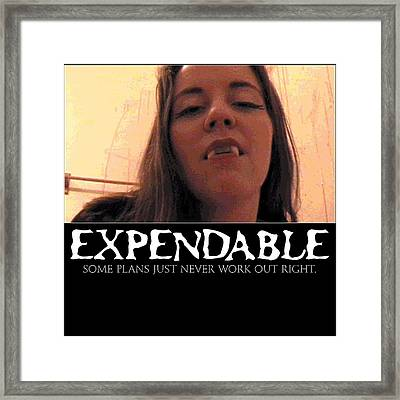 Expendable 13 Framed Print