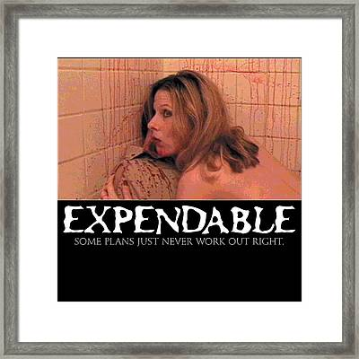 Expendable 14 Framed Print