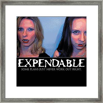 Expendable 15 Framed Print