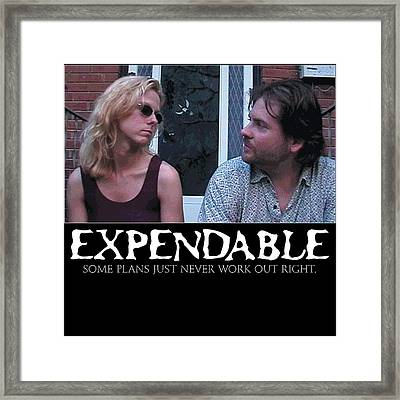 Expendable 2 Framed Print