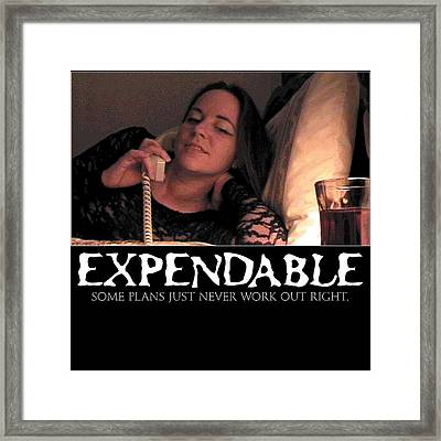 Expendable 5 Framed Print