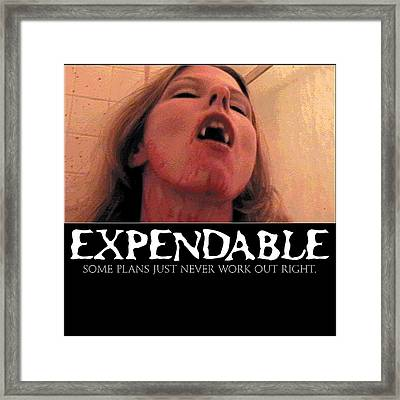 Expendable 8 Framed Print
