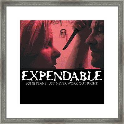 Expendable 9 Framed Print