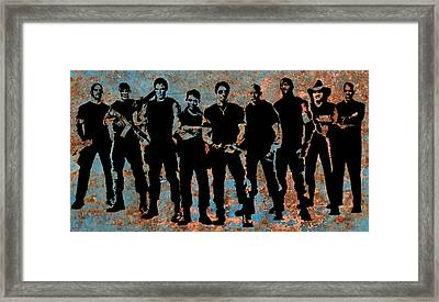 Expendables Framed Print by Michael Bergman