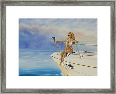 Experience This Framed Print by Marcel Quesnel