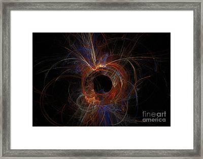 Experiment 9 Framed Print