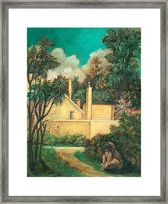 Experimental Station Framed Print by Ethel Vrana