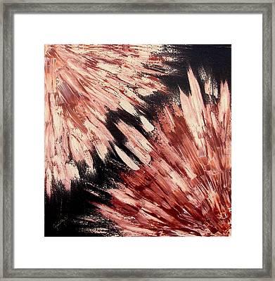 Exploded Framed Print by Ofelia Uz