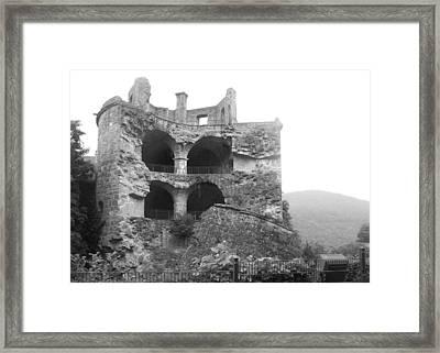 Exploded View Framed Print by Adam Schwartz