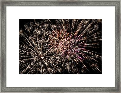 Exploding All Over Framed Print by Marnie Patchett