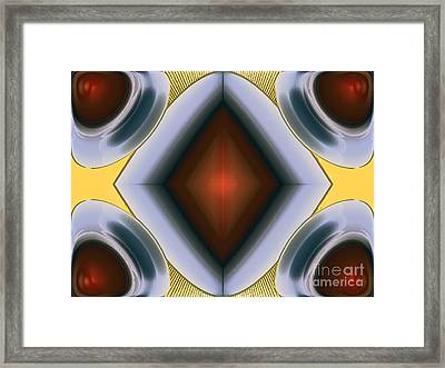 Exploding Drops Framed Print by Patrick Guidato