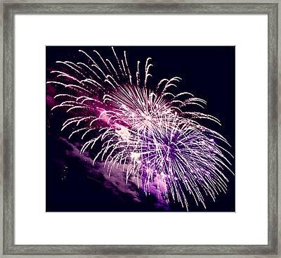 Exploding Stars Framed Print